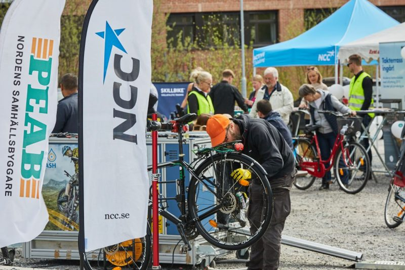 Cykeldag Ulriksdal barn