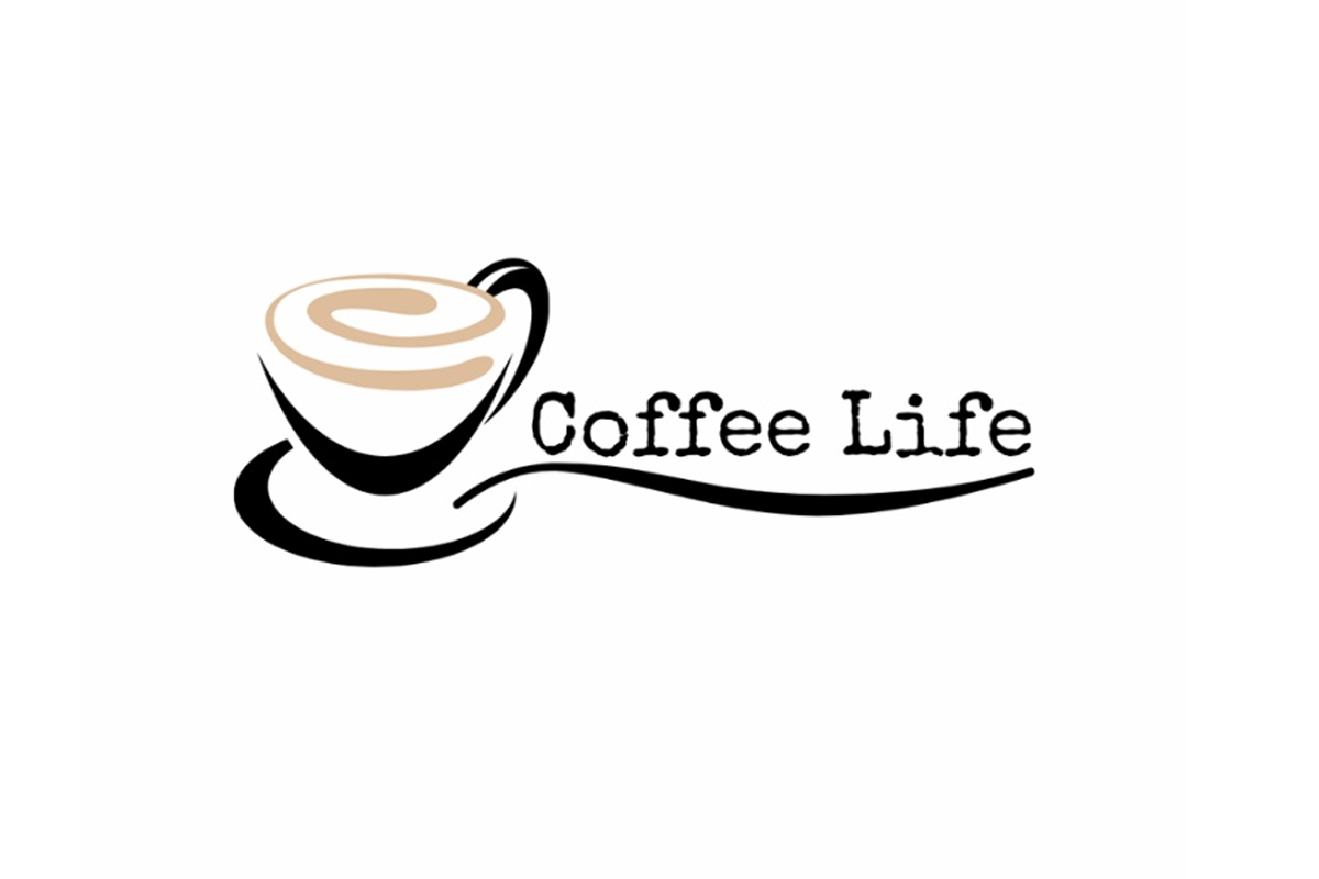 Illustration: Coffee Life logotyp